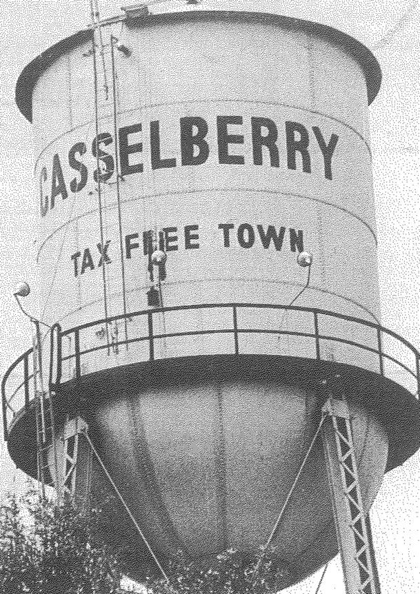 1940 Casselberry Tax Free Town Water Tower