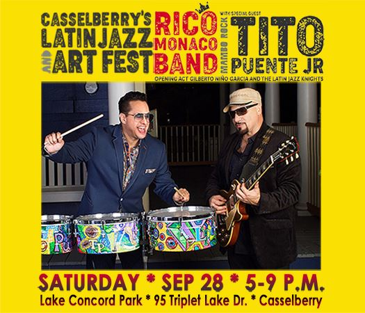 Rico Monaco Band with special guest star, Tito Puente Jr.