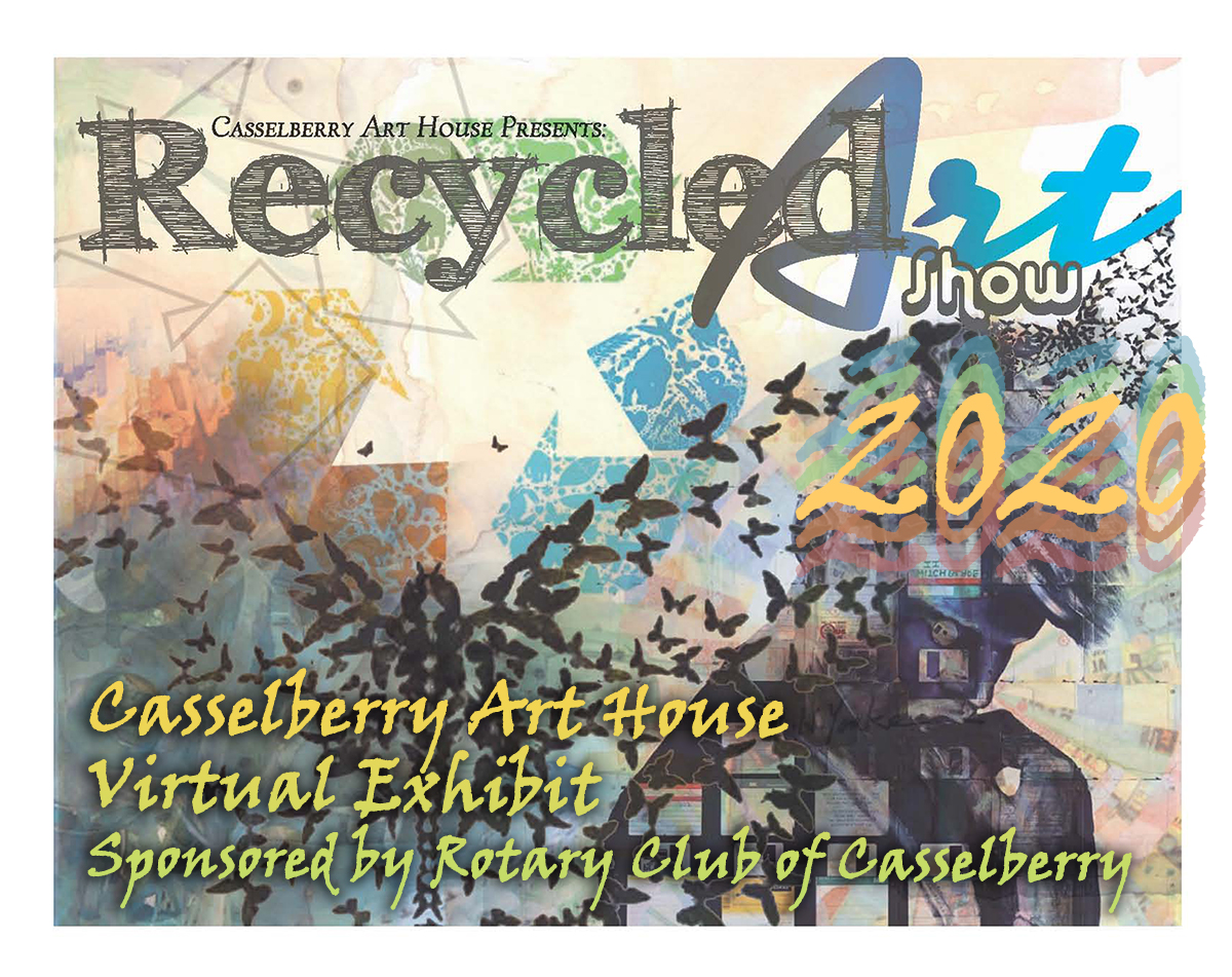 2020 Recycled Art Virtual Exhibit Graphic
